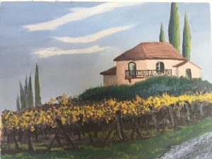 San Gimiango Vineyard Home