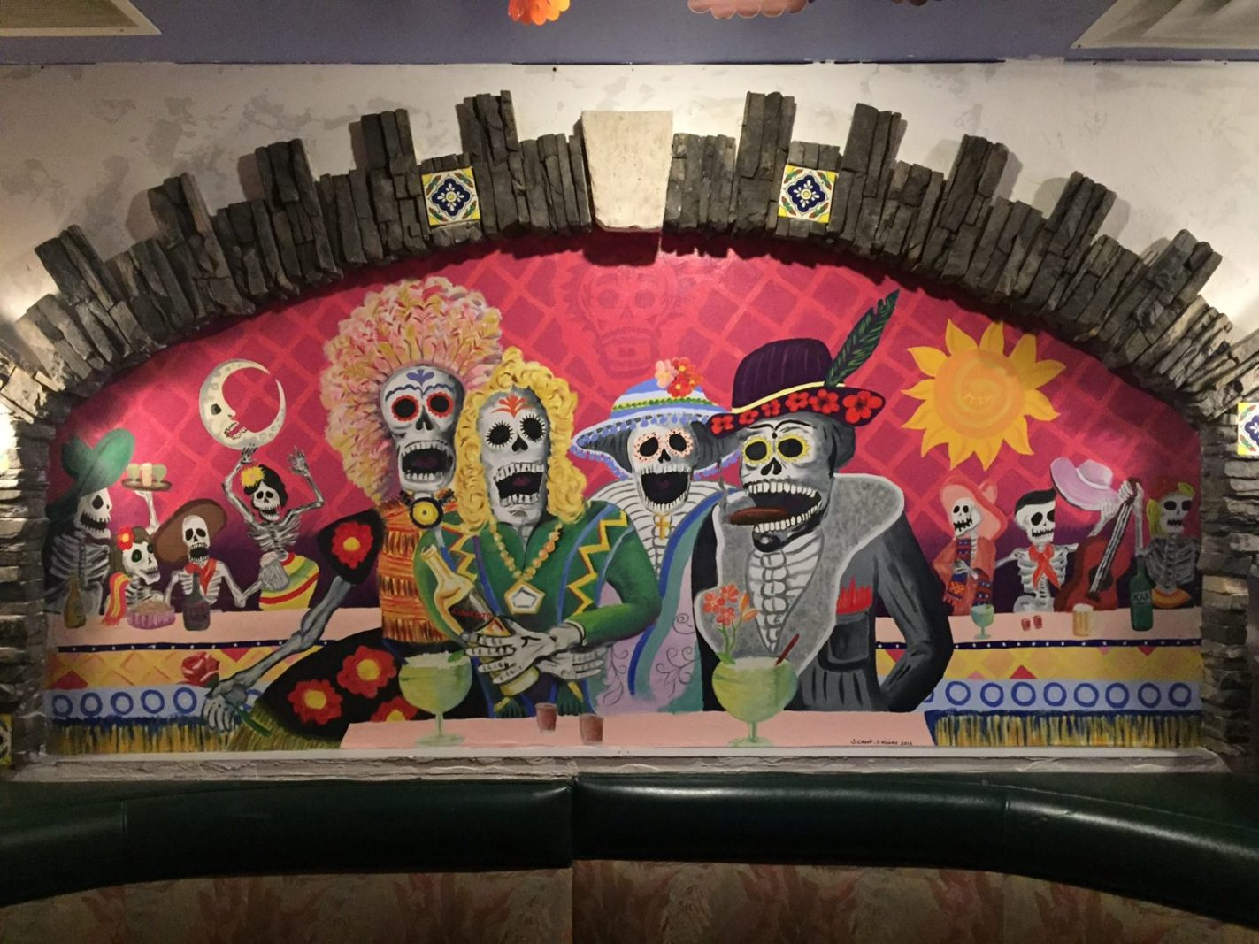 """Day of the Dead"" Mural"